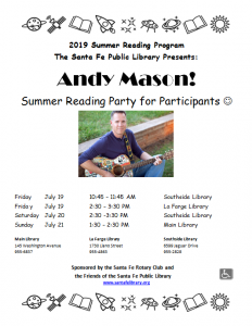 SRP Party with Andy Mason @ Southside Branch | Santa Fe | New Mexico | United States