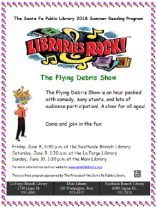 Flying Debris Show @ Southside Branch | Santa Fe | New Mexico | United States