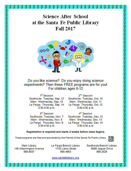 Science After School @ Southside Branch | Santa Fe | New Mexico | United States
