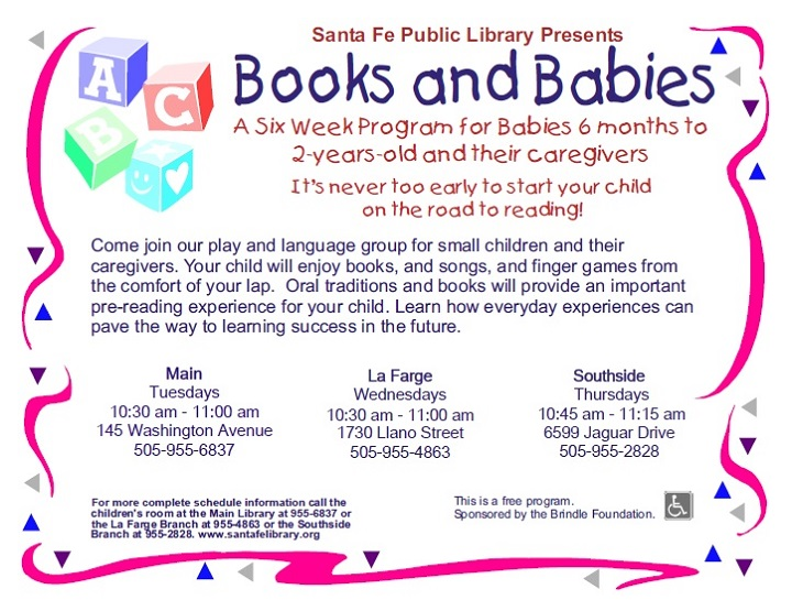 Books and Babies @ La Farge Branch | Santa Fe | New Mexico | United States