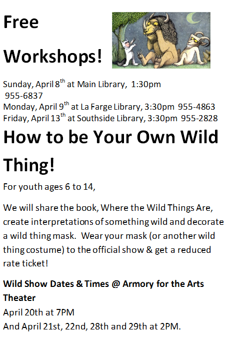 Free Workshop @ Main Library | Santa Fe | New Mexico | United States