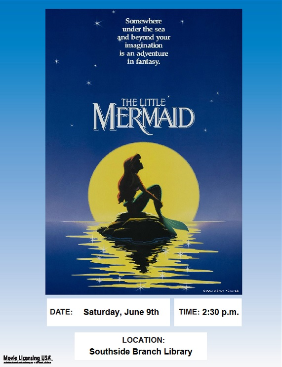 Movie Matinee: The Little Mermaid @ Southside Branch | Santa Fe | New Mexico | United States