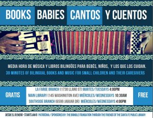 Spanish/Bilingual Books and Babies @ La Farge Branch | Santa Fe | New Mexico | United States