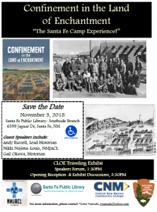 Confinement in the Land of Enchantment @ Southside Branch | Santa Fe | New Mexico | United States