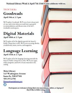 Tech Talk: Goodreads @ Main Library