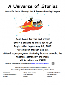Summer Reading Program Registration Begins
