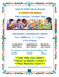 Goodnight Moon Story Time @ La Farge Branch