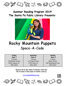 Rocky Mountain Puppets @ Main Library