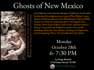 Ghosts of New Mexico @ La Farge Branch