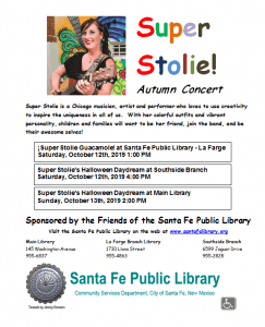 Super Stolie's Halloween Daydream @ Main Library