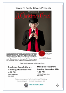 Charles Dickens' A Christmas Carol @ Southside Branch