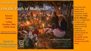 Encore presentation of Ann Murdy - On the Path of Marigolds @ Online