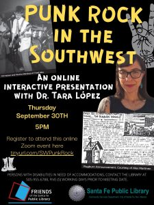 Punk Rock in the Southwest- Virtual Event @ Online